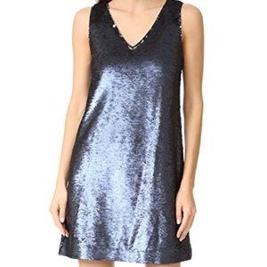 Rebecca Minkoff Blue Sequins Dress